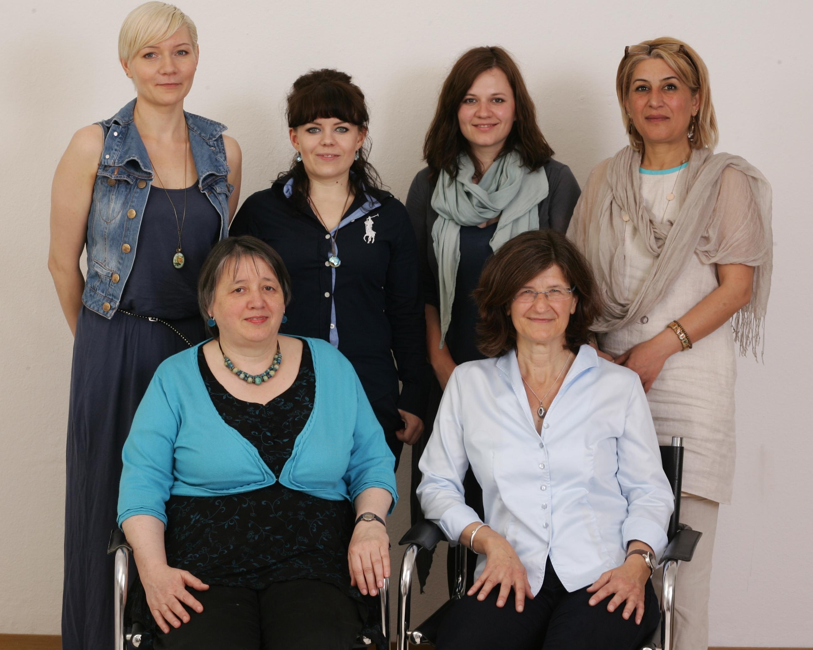 Teamfoto Psych. Frauenberatung e.V. Bielefeld_2014
